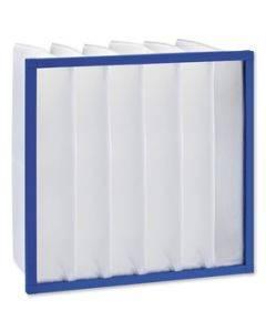 Taschenfilter Güteklasse G4 - 592 x 592 x 360 mm